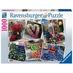 Ravensburger Puzzle 1000 pcs NYC Flower Flash
