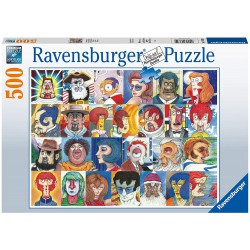 Ravensburger Puzzle 500 pcs Typefaces
