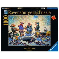Ravensburger Puzzle 1000 pcs Ice Fishing