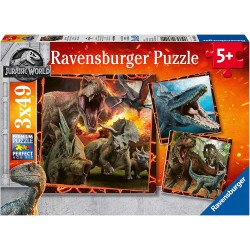 Ravensburger Puzzle 3X49 pcs Jurassic World Fallen Kingdom