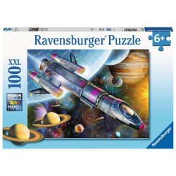 Ravensburger Puzzle 100 pcs XXL Space Mission