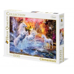 Clementoni Puzzle 1500 pc Wild Unicorn