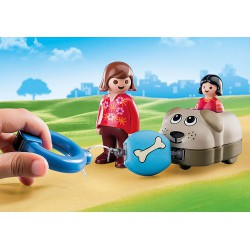 Playmobil Dog Train Car
