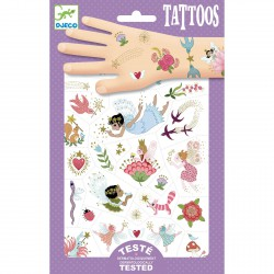 Djeco Tattoos Fairy Friends