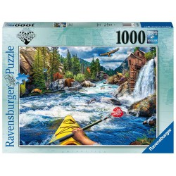 Ravensburger Puzzle 1000 pcs Whitewater Kayaking