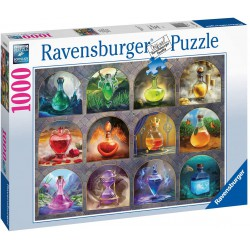Ravensburger Puzzle 1000 pc Magical Potions