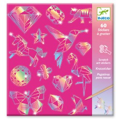 Djeco Scratch cards Diamond