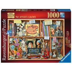 Ravensburger Puzzle 1000 pc The Artist's Cabinet
