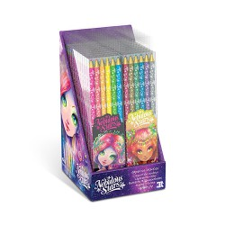 Nebulous Stars - Wooden Colour Pencils 6-pack (Ass)