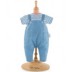 "Corolle 12 "" T-Shirt and Overalls"