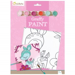 Avenue Mandarine Graffy Paint Fawn