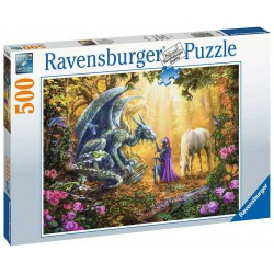 Ravensburger Puzzle 500 pc Dragon Whisperer