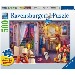Ravensburger Puzzle 500 pc Large Cozy Bathroom