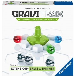 Ravensburger Gravitrax Extension Balls and Spinner