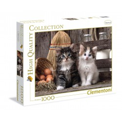 Clementoni Puzzle 1000 pc - Lovely Kittens