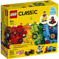Lego Bricks and Wheels