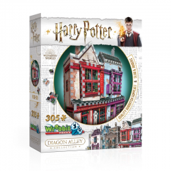 Wrebbit - Harry Potter - OLLIVANDER'S WAND SHOP & SCRIBBULUS