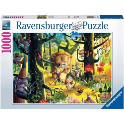 Ravensburger Puzzle 1000 pcs Lions & Tigers & Bears OH MY...