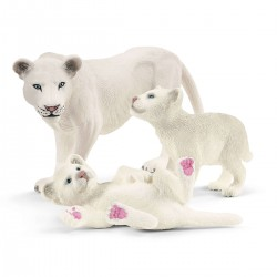 Schleich Lion Mother with Cubs