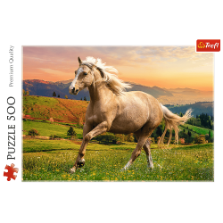 Trefl Puzzle 500 pcs Afternoon Gallop in the Sun