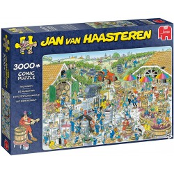 JVH Puzzle 3000 pcs The Winery