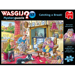 Wasgij Puzzle 1000 pcs no 17 Mystery Catching a Break!