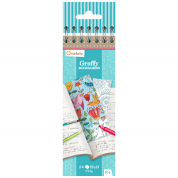 Avenue Mandarine Graffy Bookmark Mandala-Flowers