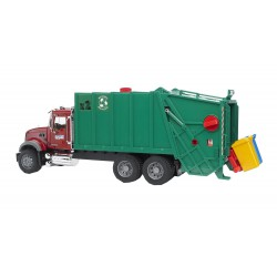 Mack Granite Garbage Truck (Ruby, Red, Green)
