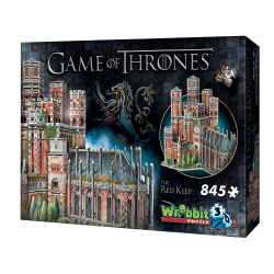Wrebbit - Le donjon rouge - Throne de fer 3D Puzzle