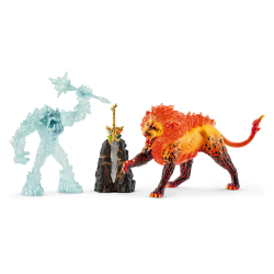 Schleich Battle for the Superweapon – Frost Monster vs. Fire Lion