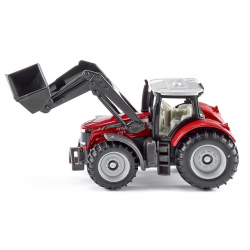 Siku Miniature Massey Ferguson with front loader