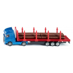 Siku Miniature MAN TG-A Log Transporter