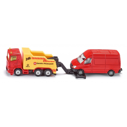 Siku Miniature Breakdown Truck with Vehicle