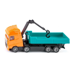 Siku Miniature Volvo FH Roll-off Tipper Truck with Hooklift Crane
