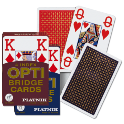 Playing Cards - Opti - Bridge size - 4 index