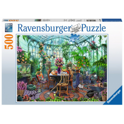 Ravensburger Puzzle 500 PC Greenhouse Morning
