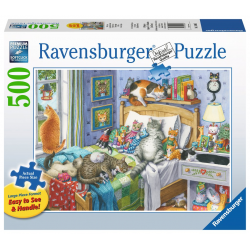 Ravensburger Puzzle 500 XXL PC Cat Nap