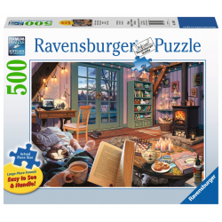 Ravensburger Puzzle 500 XXL PC Cozy Retreat
