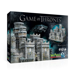 Wrebbit - Game of Thrones - Winterfell 3D Puzzle  910 pcs