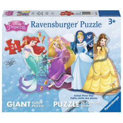 Ravensburger Puzzle 24 pcs Super Sized Floor - Pretty Princesses
