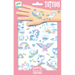 Djeco Tattoos - Unicorns