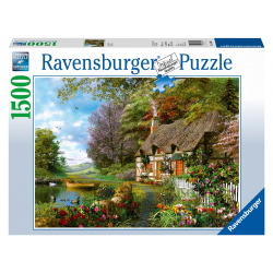 Ravensburger Country Cottage - 1500 pc Puzzle