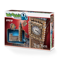 Wrebbit - Big Ben 890 Piece 3D Jigsaw Puzzle