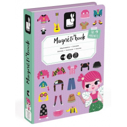 Janod Magnetibook Girl Costumes