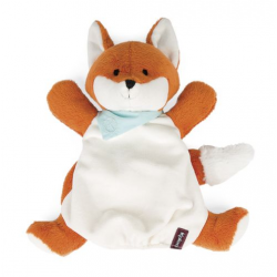 Kaloo Les Amis - Doudou the puppet - Fox 30 cm
