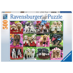 Ravensburger Puzzle 500 PC - Puppy Pals