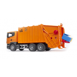 Bruder SCANIA R-series Garbage truck (orange)