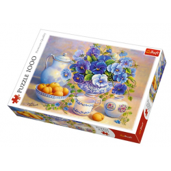 Trefl Puzzle 1000 pcs Blue Bouquet