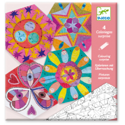 Djeco Colouring surprises / Constellation Mandalas