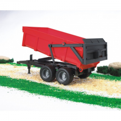Bruder - Tipping trailer with automatic tailgate